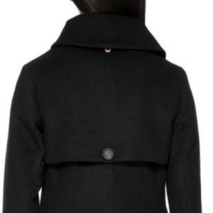 Mackage Jackets & Coats - NWT! Mackage The Phoebe Wool Pea Coat Black